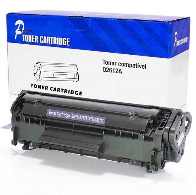 Cartucho De Toner Hp Q2612a Compatível